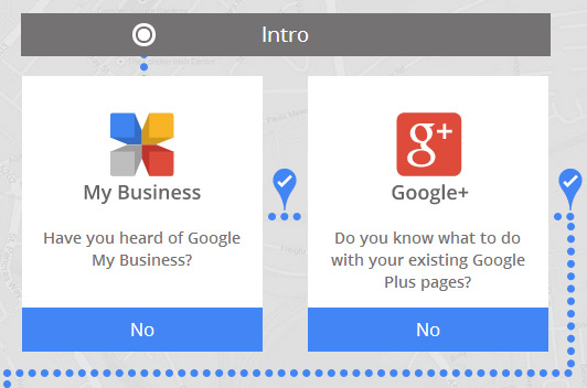 google plus and google my businesss page questions