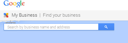 find your business on google