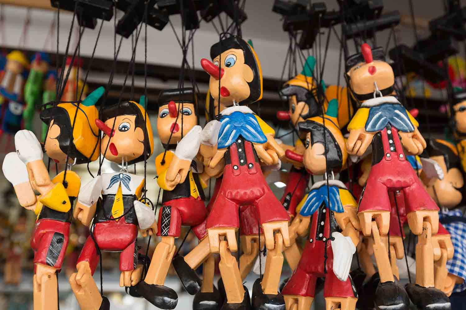 Pinocchio's guide to social media for business