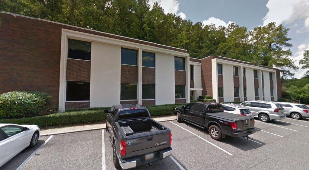 flagstone's our office is located in this building in mountain brook office park