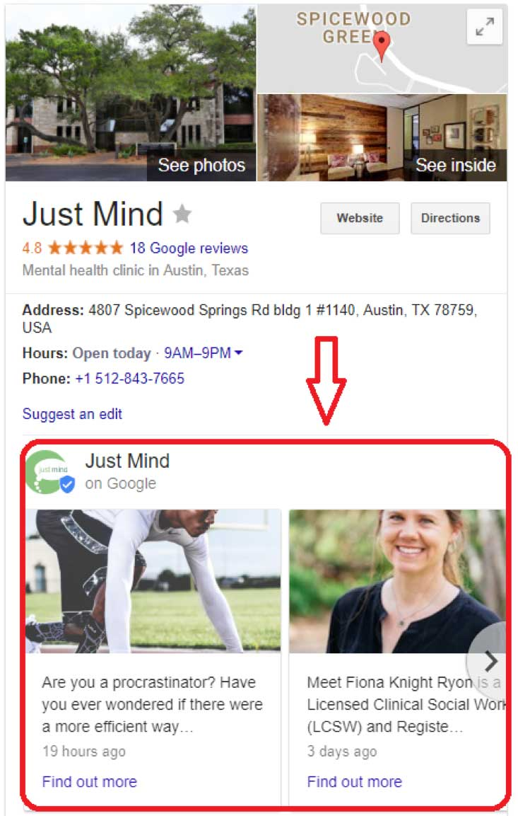 what are google posts?